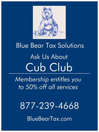 Blue Bear Tax Cub Club