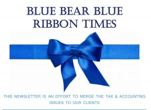 Read the Latest Blue Ribbon Times Newsletter!