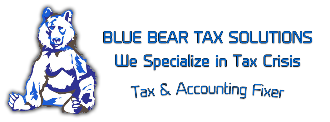 Blue Bear Tax Solutions Logo