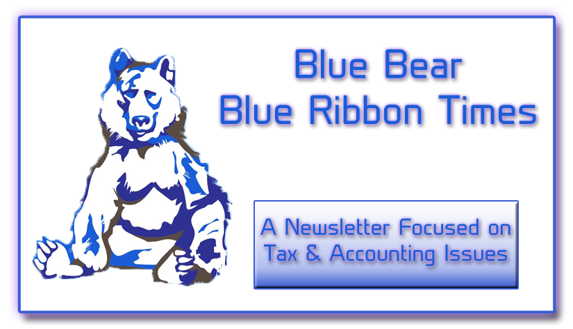 Blue Bear Blue Ribbon Times